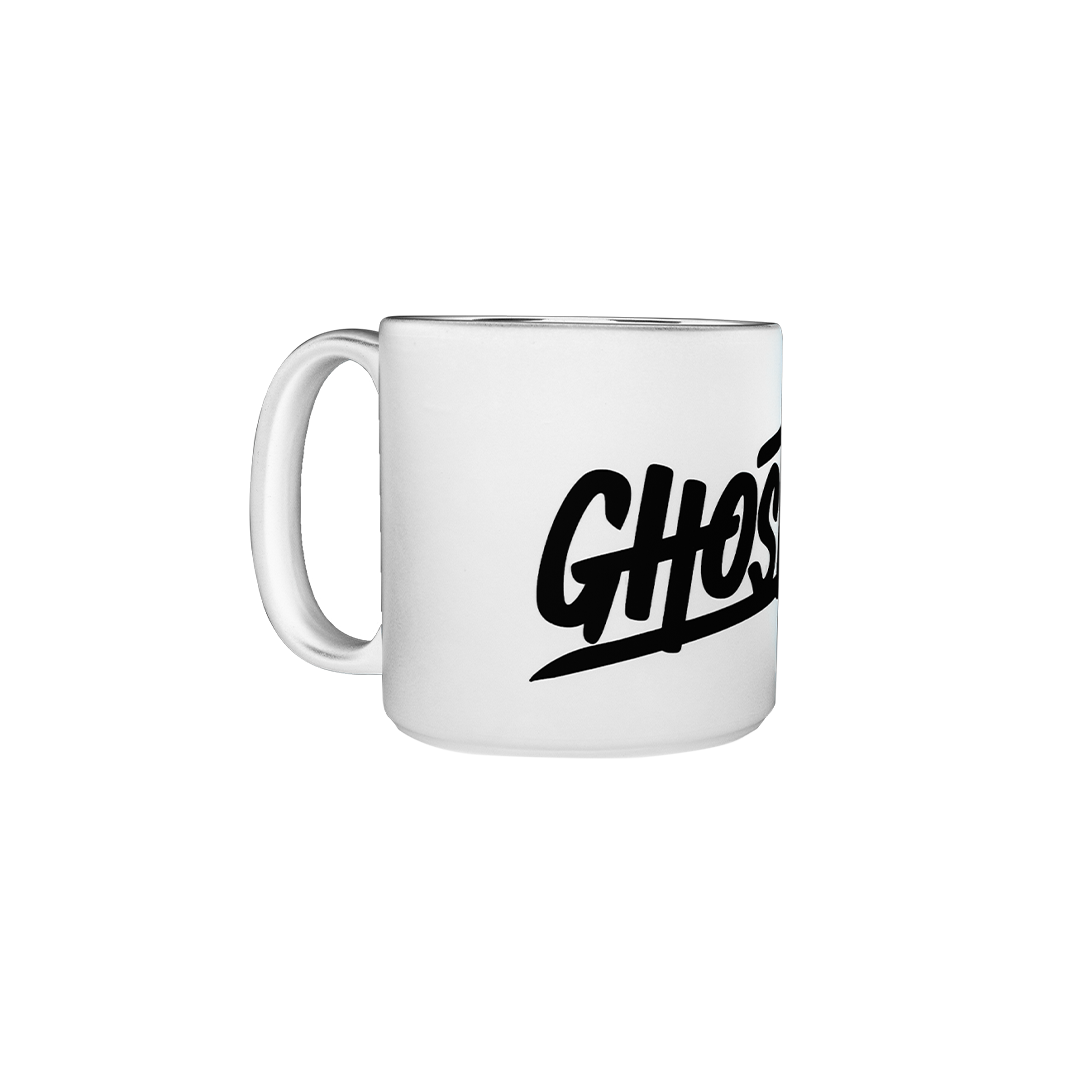 GHOST® WHITE COFFEE MUG