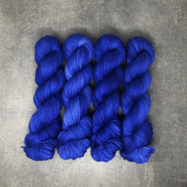 Bad Ass Blue - Traveling Yarn