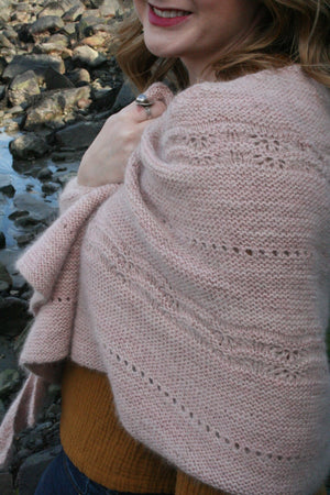 Heart & Soul Shawl Kit - Traveling Yarn