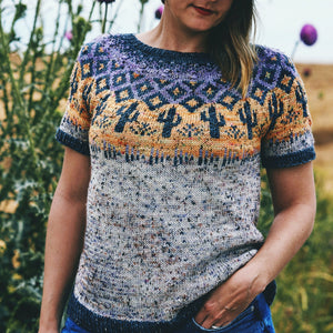 Rattlesnake Tee Kits - Traveling Yarn