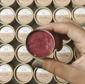 Rose Moon Tinted Lip Balm - Traveling Yarn