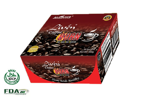 Burn (Body Under Right Nutrition) Liven Coffee