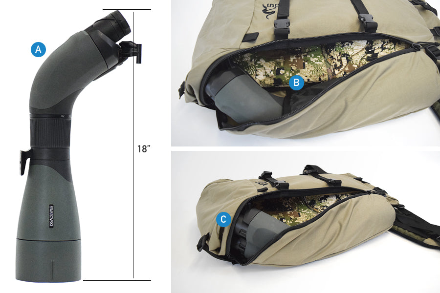 Stone Glacier Packs BTX Spotting Scope