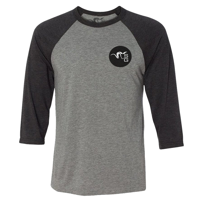 SG Ram Baseball Tee - Grey/Black