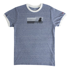 Vintage Ram Ladies Tee - Blue/White