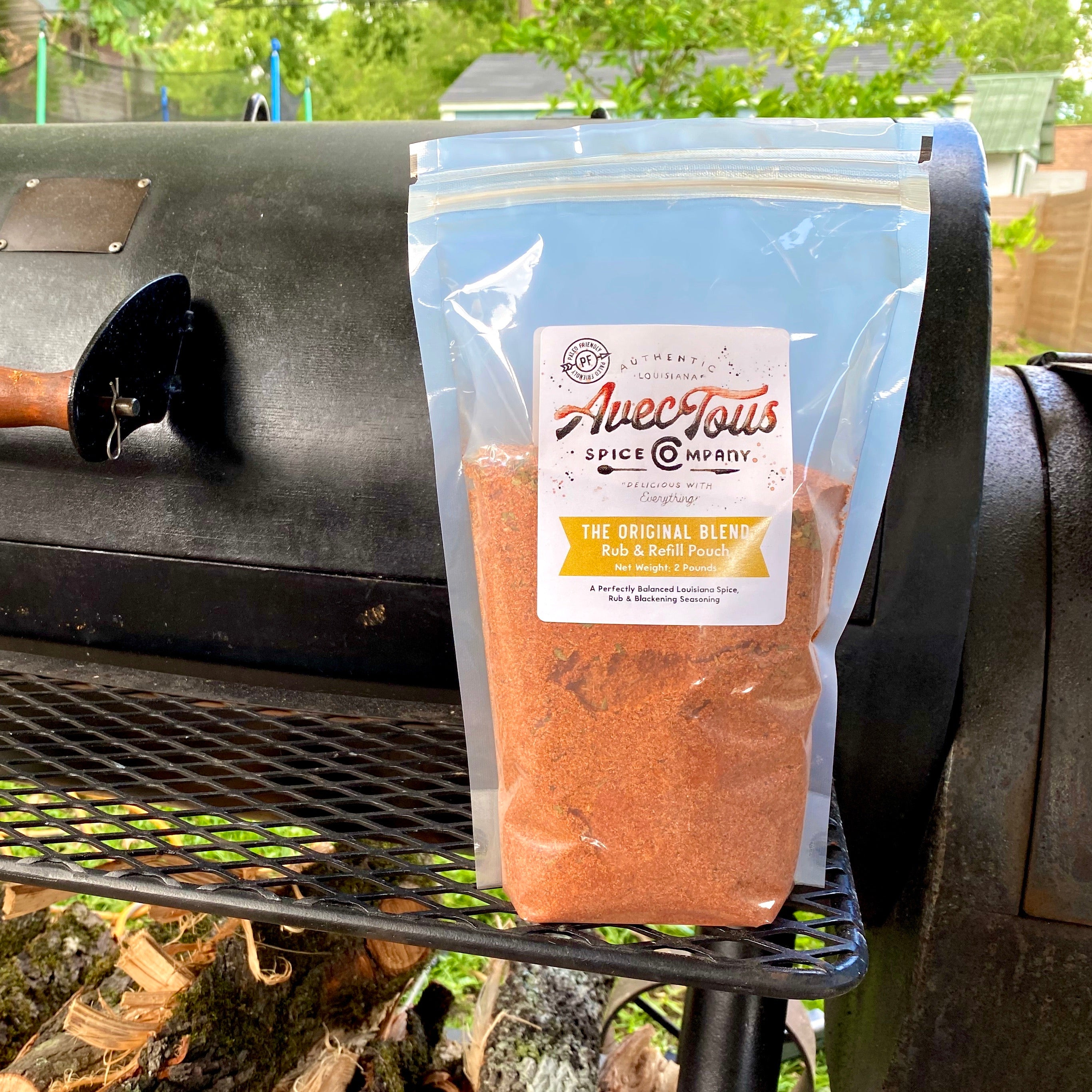 PRE-ORDER - The Original Blend: 2 LB Rub & Refill Pouch (equal to 6 bottles)