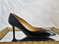 Marc Fisher black patent pumps