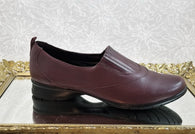 Eurostep burgundy leather loafers