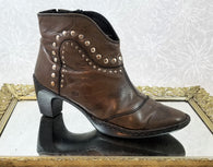 Josef Seibel brown western booties