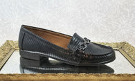 Naturalizer black leather loafers