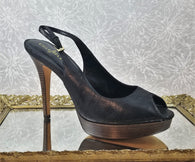 Cole Haan leather sling backs