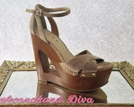 Luxe by JustFab nude platform wedges
