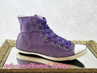 Converse Chuck Taylor heather purple dainty high tops