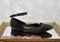 G by Guess pony hair studded flats