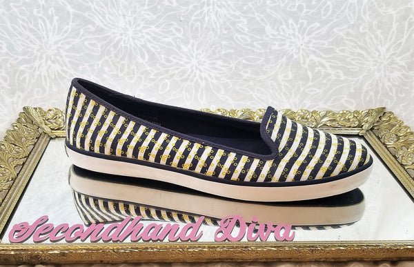 Sperry Top-Sider striped canvas loafers