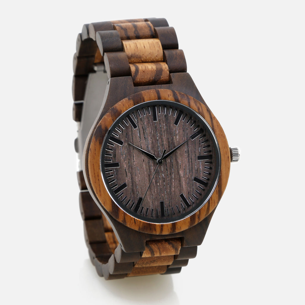 Full Wooden Watch - The Downtown