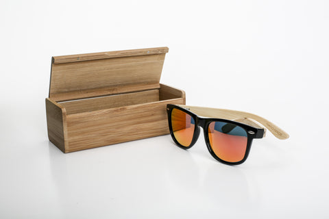 Lone Pine Sunglasses - Red REVO Lens