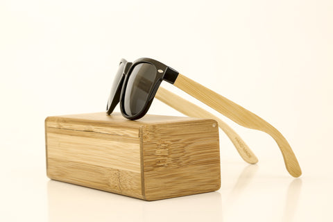 Lone Pine Sunglasses - Black Lens