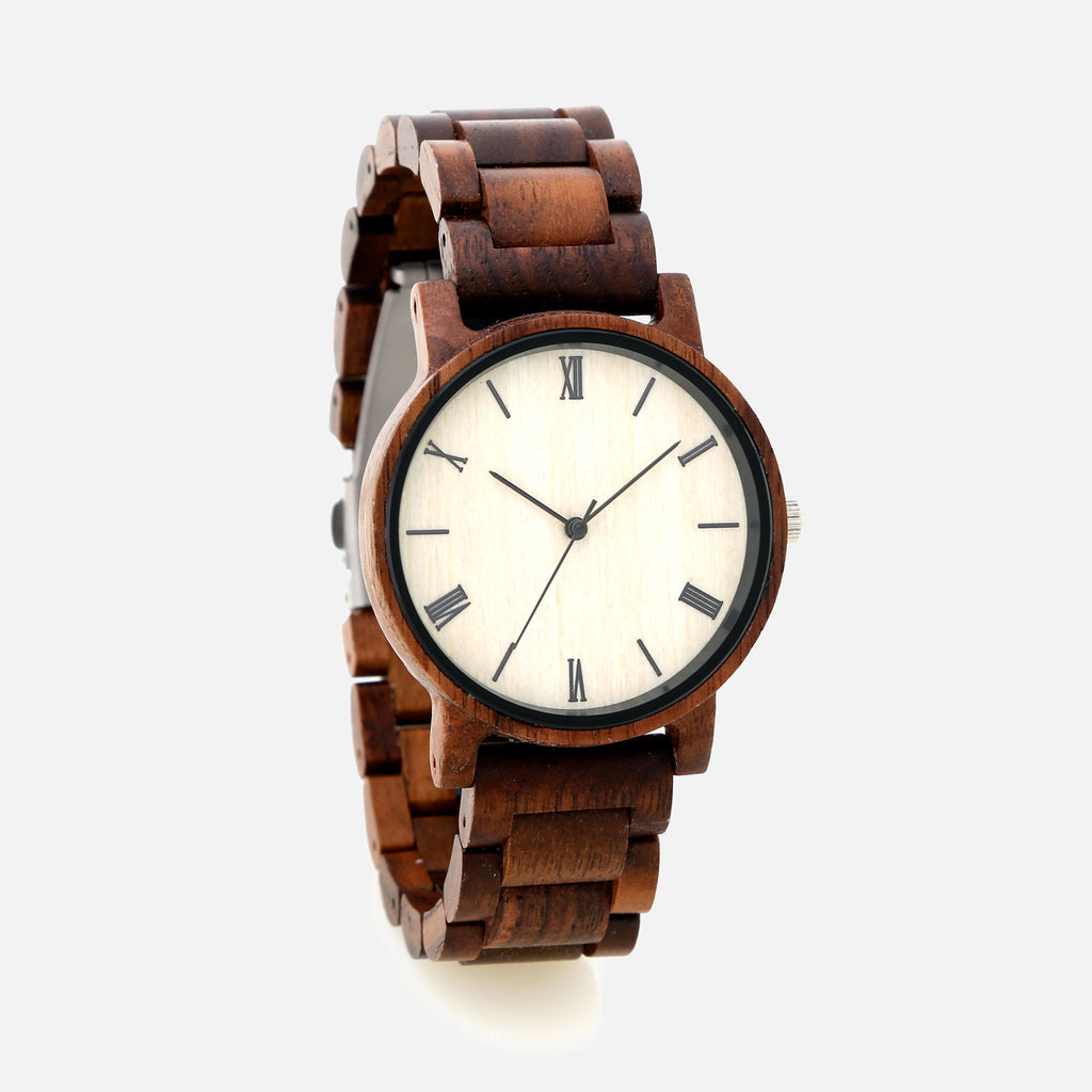 Wooden Watch - The Botanical