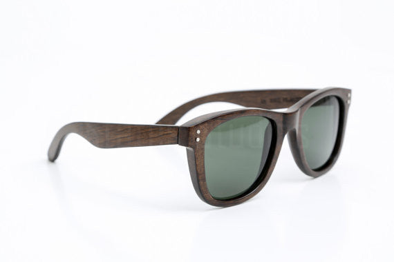 Topside Sunglasses - Walnut Wood