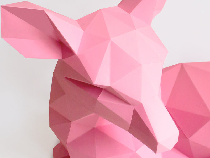 FAWN  <br> DIY Paper Craft Template