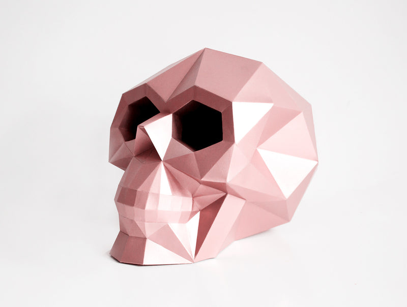 SKULL  <br> DIY Paper Craft Template
