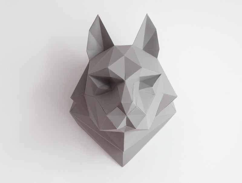 WOLF <br> DIY Paper Craft Template