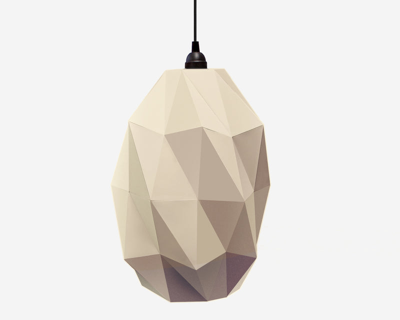 Origami Lampshade Kumo <br> DIY Paper Craft Template