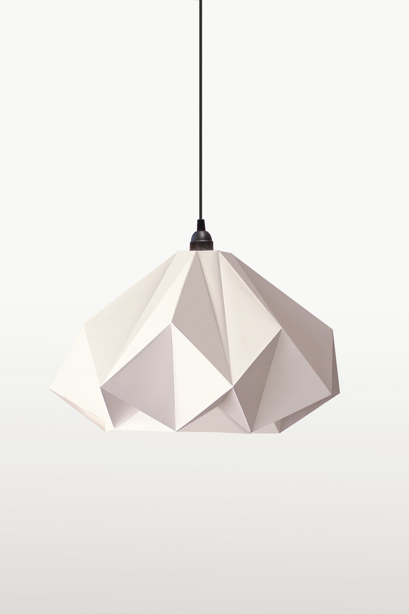 Origami Lampshade Kami <br> DIY Paper Craft Template