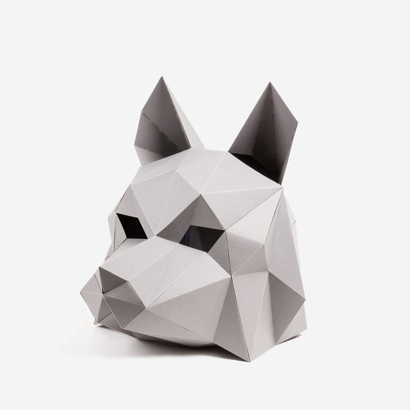 Dire Wolf Mask Model
