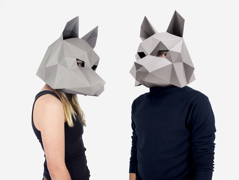 Dire Wolf Mask Costume