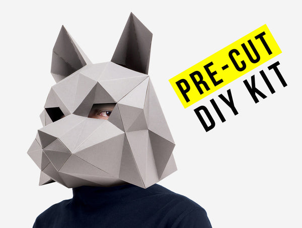Dire Wolf Mask Paper Craft Kit
