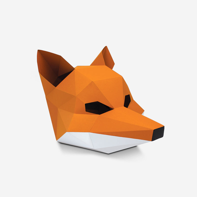 Fox Mask Papercraft