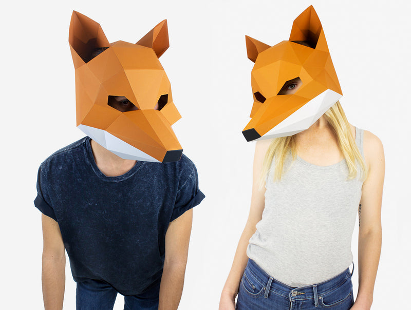 Fox Mask Costume