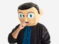 FRANK SIDEBOTTOM MASK <br> DIY Paper Mask Template