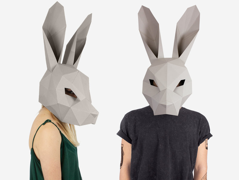 Hare Mask Costume