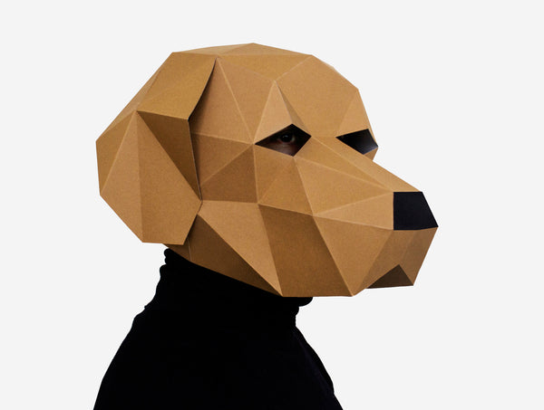 LABRADOR <br> DIY Paper Mask Template