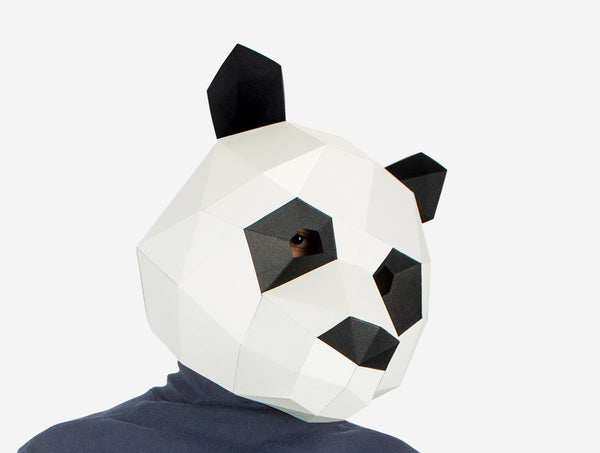 Panda Mask CloseUp