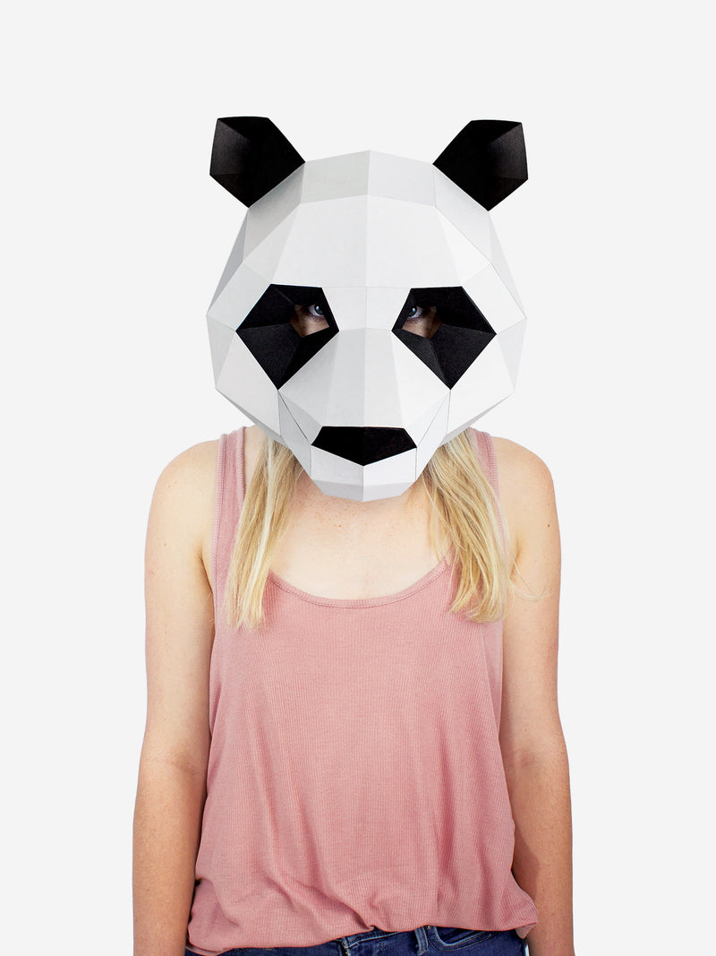 Panda Mask Paper Craft Kit