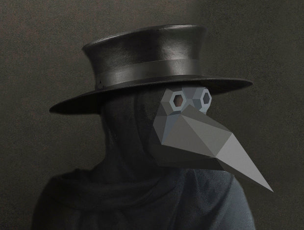PLAGUE DOCTOR STEAMPUNK MASK