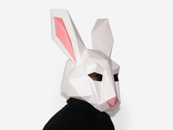RABBIT <br> Printable Mask Pattern