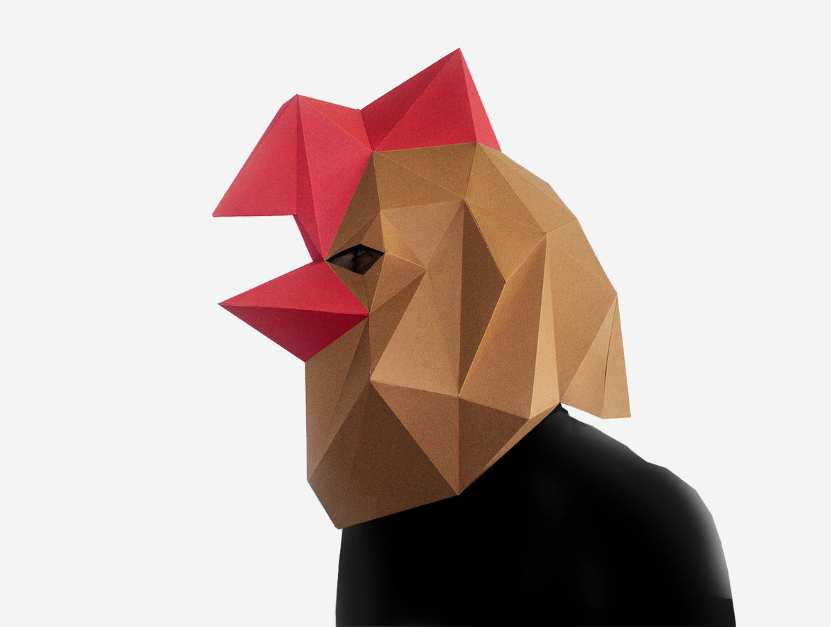 Rooster mask lapa studios rooster mask jeuxipadfo Image collections
