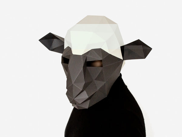 SHEEP <br> Printable Mask Pattern