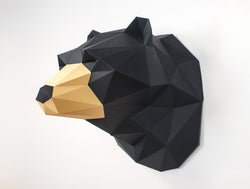 BEAR SCULPTURE <br> DIY Paper Craft Template