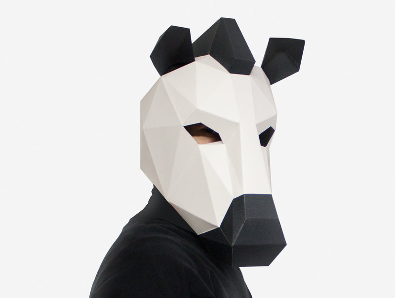 ZEBRA <br> DIY Paper Mask Template