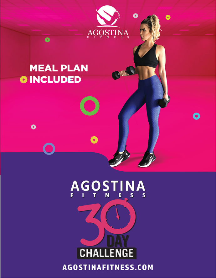 Agostina's 3O DAY CHALLENGE (Digital Download)