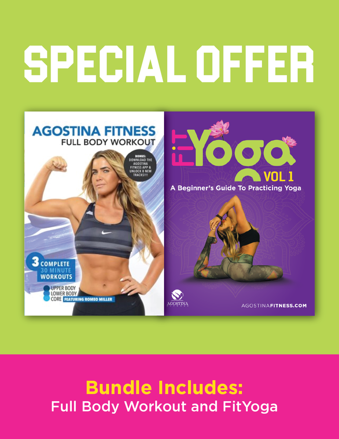 FitYoga Vol. 1 + Full Body Workout Bundle (Digital Download)