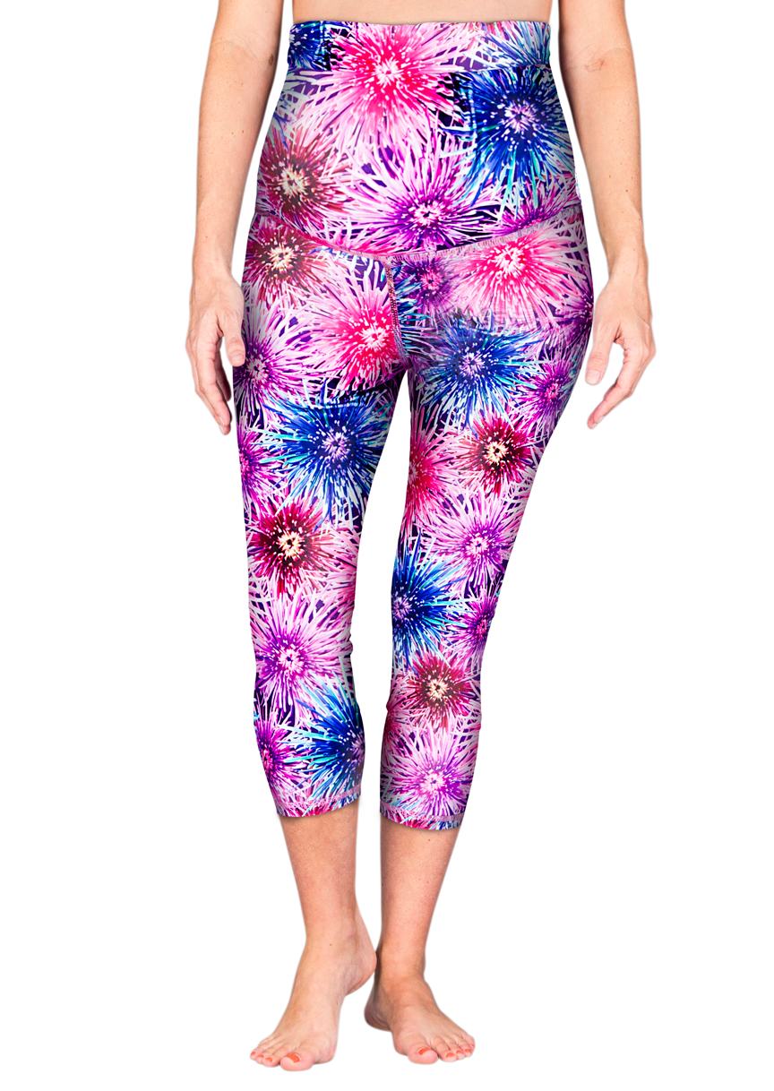 Fire Maternity Leggings