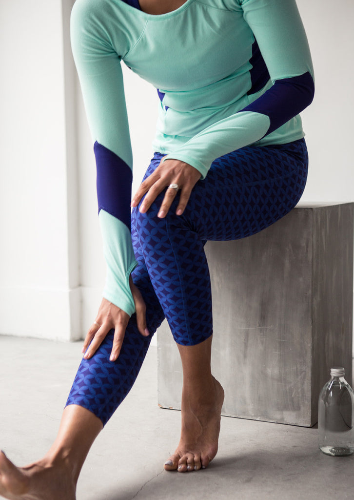Myth Blue Leggings