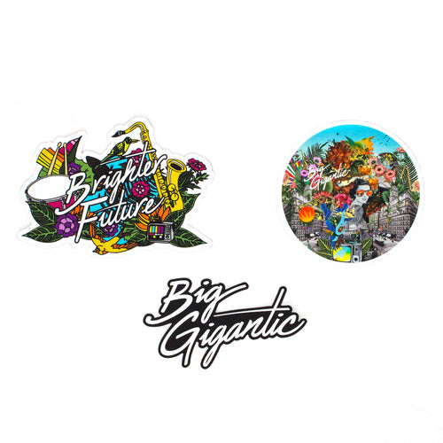 Brighter Future Sticker Pack of 3